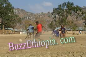 Ethiopian kids playing