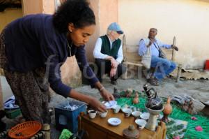 Ethiopian coffee cermony