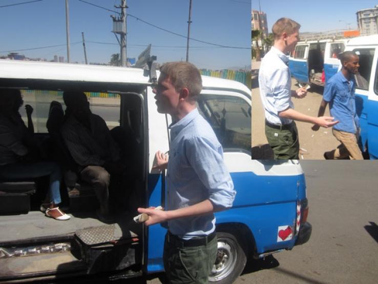 Ferenji weyala in Addis Ababa